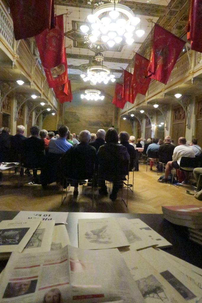 Fødselsdagskonferencen afholdes i Arbejdermuseets smukke gamle festsal