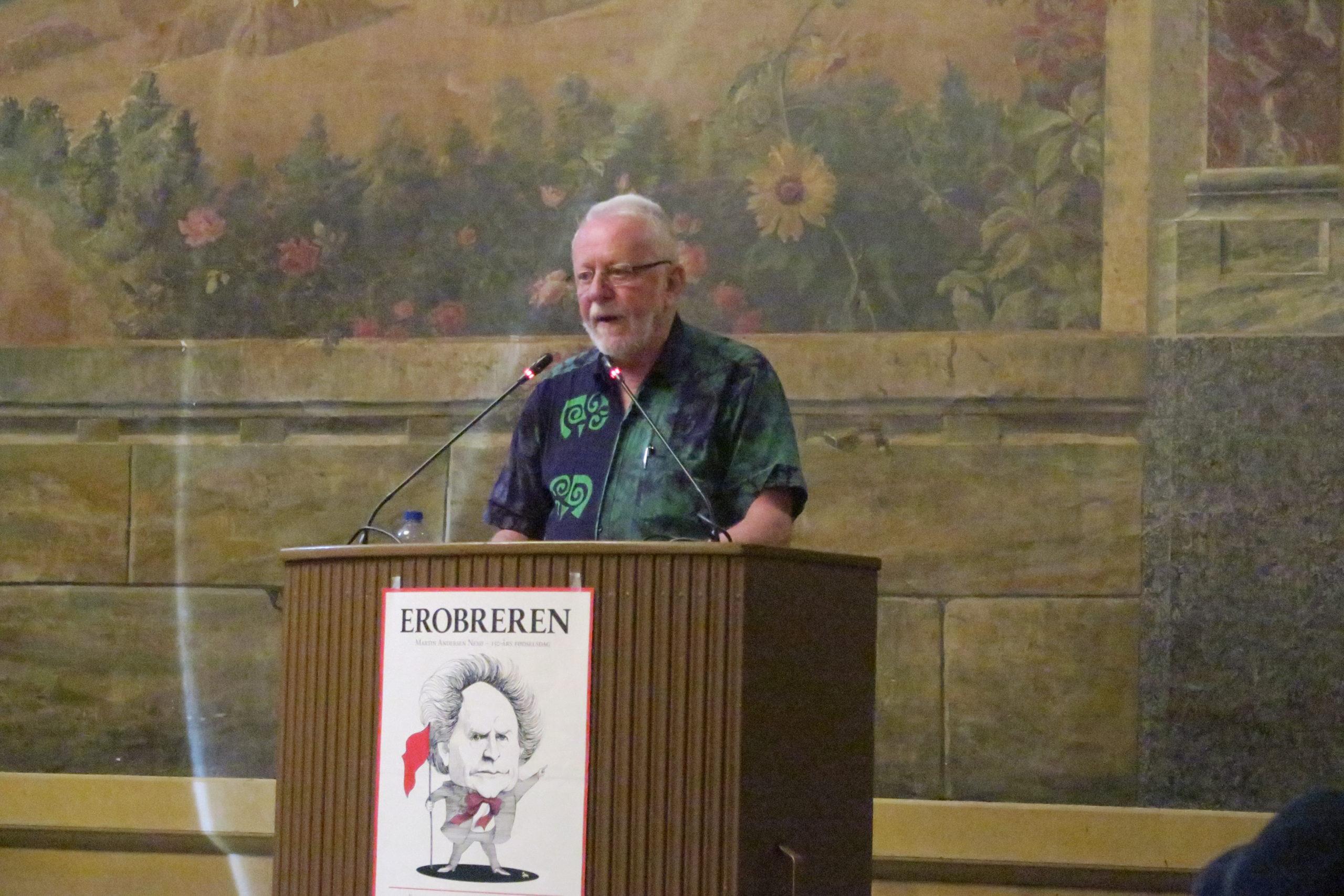 """Henrik Yde foredrager om det vigtige værk """"Soldage"""" i forfatterskabet"""