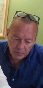 Mads Bruun Pedersen medlem af bestyrelsen for selskabet for Arbejderhistorie og Martin Andersen Nexø Fonden