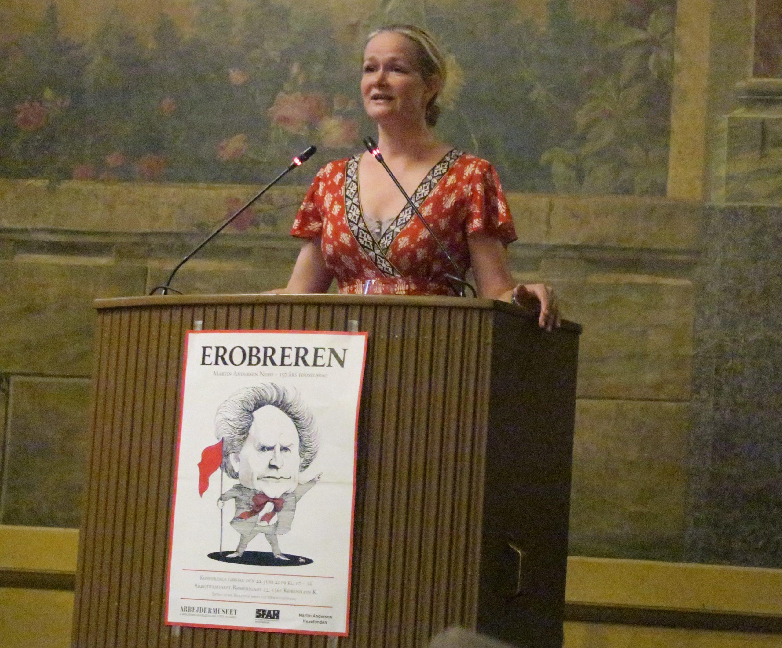 "Meta Foldager ""Filmproducer"" taler om Nexøs forfatterskab som filmmateriale"