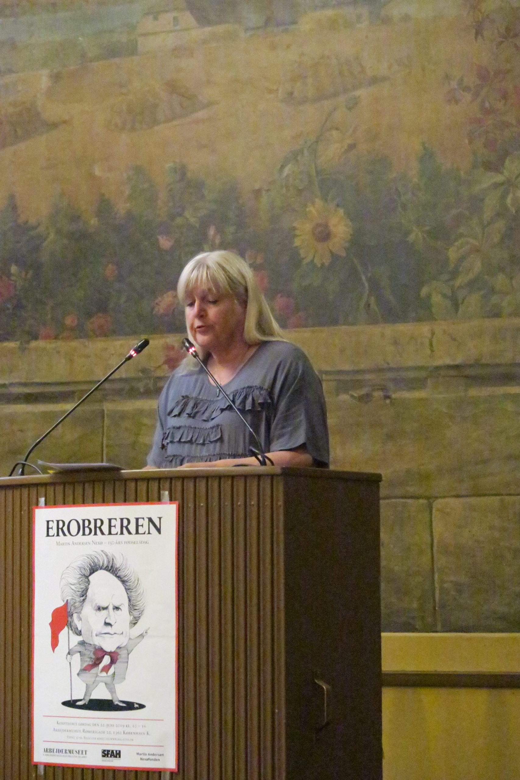 Retoriker Hanne Roer analyserer Nexøs berømte Dynæs tale