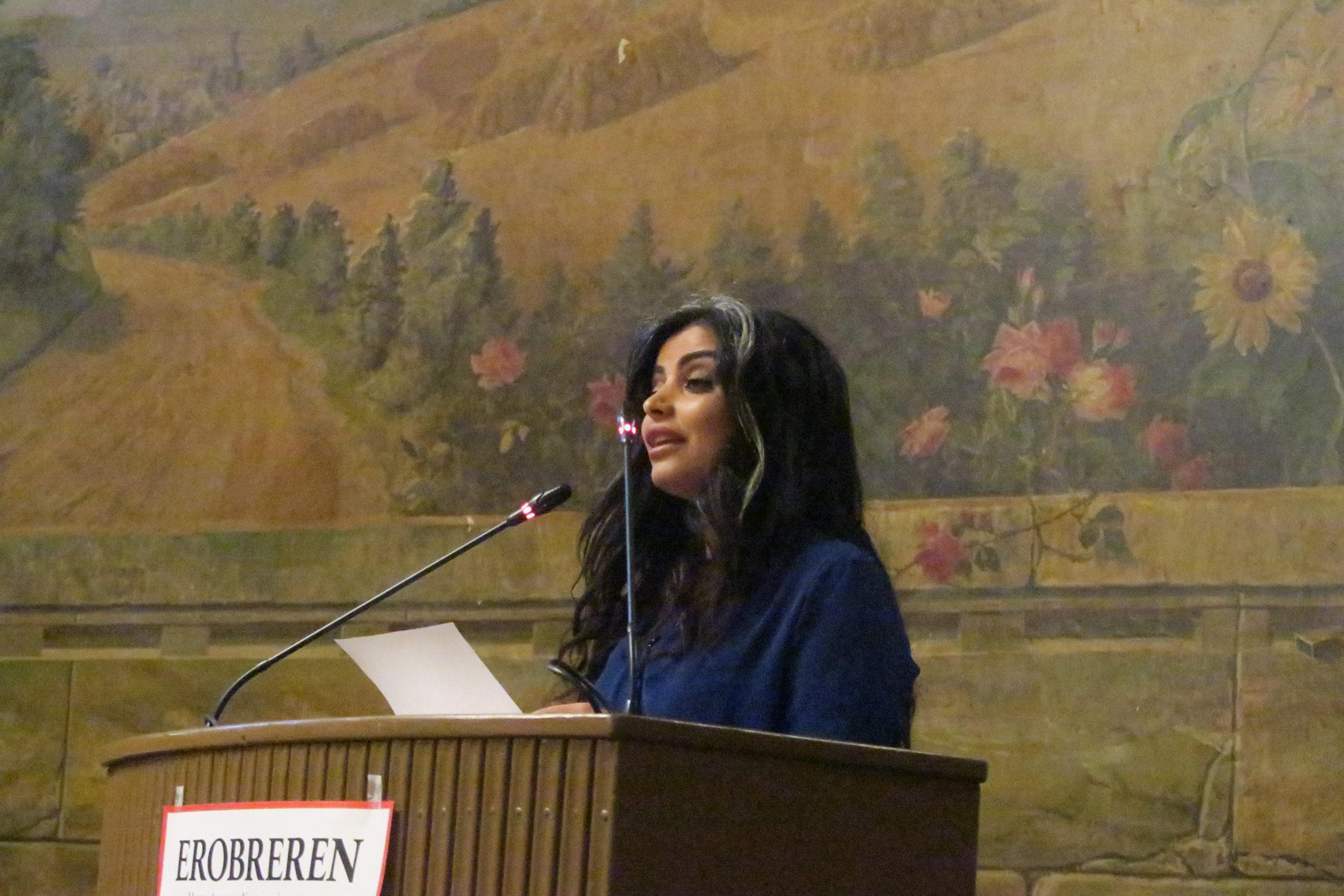 Sara Omar takker for prisen